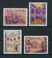 Portugal Macao Macau 1996 MACAU PAINTINGS FRAMES complete set MNH, FVF
