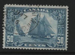 "Canada #158 used ""Bluenose"""