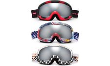 Ski Goggle Winter Sport Snowboarding 3 Layer Foam Anti Fog Dual Lens Cloud 9