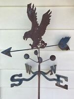 Vintage Salvage Eagle Weather Vane Stake (Rustic)