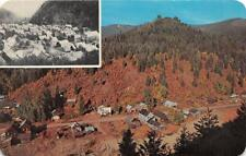 MURRAY ID 1965 Aerial View of Town back then and in 1885 VINTAGE IDAHO GEM++ 499