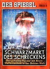 SPIEGEL 5/2004 Der Schwarzhandel mit Atomwaffentechnik