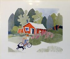 """""""Abandonned Cabin – Talkeetna"""" by Rie Munoz 1993 – Signed and Numbered 1212/1250"""