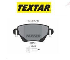 2355702 Kit pastiglie freno a disco post.Renault (MARCA-TEXTAR)