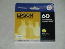 Genuine Epson T060 T0604 YellowColor Ink Stylus C68,CX4800. Exp:2014.Check out!