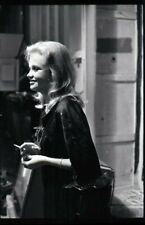 Hayley Mills Rare Candid Vintage Original 35mm Camera Negative New York smoking