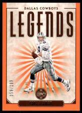 2020 Legacy Legends Orange #137 Troy Aikman /199 - Dallas Cowboys