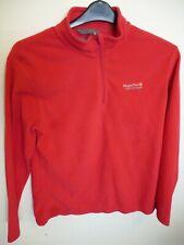 Women's Red Regatta Fleece Top Size 14 Zip opening