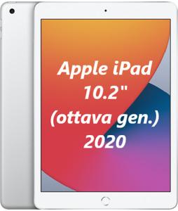 "Apple iPad 2020 32GB Wi-Fi 10.2"" MYLA2TY/A NUOVO ITALIA Tablet Silver 8gen."
