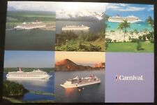 Carnival Cruise Line . ms Fascination . Captain Signed Ship's Stamp Aboard Boat