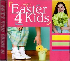 EASTER 4 KIDS: RELIGIOUS CHURCH SUNDAY SCHOOL SPRINGTIME HOLIDAY MUSIC SONGS CD!