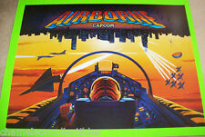 Capcom AIRBORNE 1995 Original NOS Pinball Machine Translite Backglass Artwork