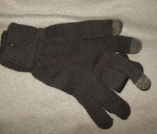 NEW $10 TECH TOUCH BROWN SIZE L/XL Cotton DRESS Gloves CROCHET Knit