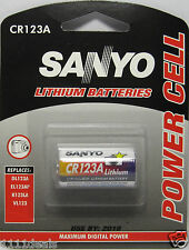 Sanyo Lithium CR123 CR123A 123 Photo Battery x 1