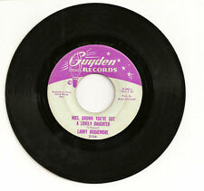 Larry Roquemore Mrs.Brown You've Got A Lovely Daughter/Just Stay Guyden 2124 VG+