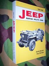 livre BECKER Jeep Bantam Willys Ford  1940 / 1945 MILITARIA WW2 M 201 HOTCHKISS