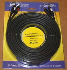 AV Link Pr Audio RCA Cable AR5415 - 24.7 ft, Brand NEW