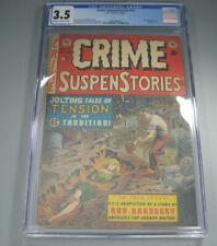 Crime Suspenstories #15 CGC 3.5 1953 EC