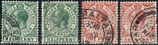 Gibraltar.  1912-1917.  KGV Definitive.    SG76-77a.    Used.