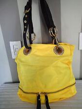 jpk paris  bucket ring HANDBAG bag ,shoulder tote yellow