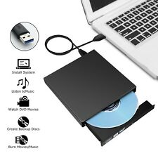 External Portable USB 2.0 Slim CD RW ROM CD Rewriter DVD Drive For All Laptop PC