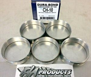 Dura-Bond CH10 GM LS1 LS6 1997 Through 2005 4.8L 5.3L 6.0L Cam Bearings Set