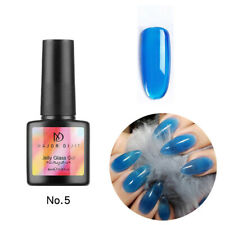 Summer Attribute UV Nail Art Polish Jelly Glass Gel Soak Off Varnish Manicure v