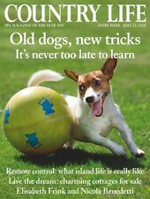 COUNTRY LIFE MAGAZINE Old Dogs, New Tricks (BRAND NEW BACK ISSUE)