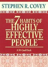 The 7 Habits of Highly Effective People Cards Large Card Decks