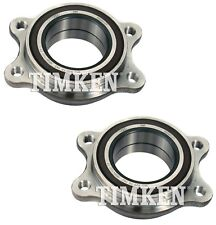 Pair Set 2 Front Timken Wheel Bearing Assies Kit for Audi A4 A5 A6 A7 A8 Q AWD