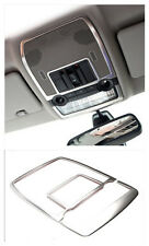 Interior front roof dome reading light cover trim 2pcs For BMW X5 E70 2009-2013