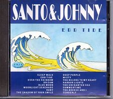 Santo & Johnny Ebb Tide Cd Mint Joker CD 10007 Italian Issue 1992 Fuori Catalogo