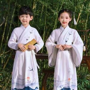 Children's Chinese Ancient Costume Hanfu Guoxue Costume Performance Costume
