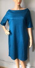 Star by Julien MacDonald Stretch Pencil Dress Uk Size 16 Turquoise Blue BNWT