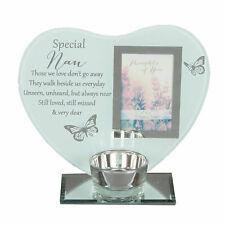Special Remembrance Memorial Nan Tea Light Holder. HUGE Saving