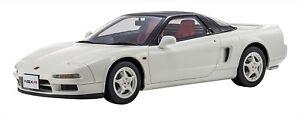 KYOSHO SAMURAI 1/12 Honda NSX Type R White KSR12003W Resin Model Car EMS NEW