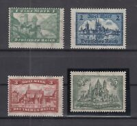 CP7442/ GERMANY REICH – MI # 364 / 367 COMPLETE MINT MNH – CV 440 $