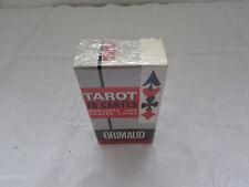 ancien jeu de tarot grimaud marque au quatre coins