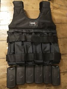 Weighted Training Vest Suteng Sports with 6x 2lb weights