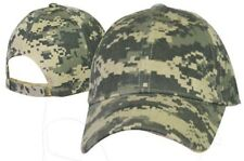 Digital Camo Camouflage Military Printed Army Cap Hat Licensed 190D