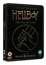 Hellboy/Hellboy 2 - The Golden Army (DVD, 2009, 4-Disc Set, Box Set)