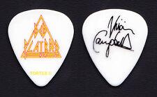 Def Leppard Ded Flatbrd Vivian Campbell Signature Guitar Pick - 2013 Tour Vegas