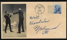 Muhammad Ali & Wilt Chamberlain Collector's Envelope Autograph Reprints  OP1245