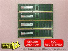 32GB (4x 8GB STICKS) DDR3 PC3-10600R REGISTERED ECC SERVER RAM MEMORY DIMM