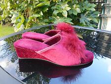 Unbranded Wedge Shoes Women's Velvet Upper