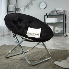 Big Huge Moon Chair Seat Stool Saucer Soft Folding Home Living Room Sofa