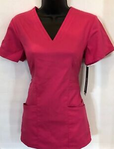 G1- Grey's Anatomy by Barco Nursing medical scrub Shirt top Xs pink