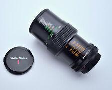 Vivitar Auto Macro 55mm f2.8 Lens Canon FD Mount Komine Classic 1/1 Caps (#4166)
