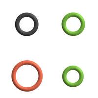 Dichtung- / O-Ringe-Set für Kupplung Milchaufschäumer DeLonghi