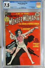 Wonder Woman #196 (1971) CGC 7.5 Bondage Cover Unpublished GA Story HG Peter Art